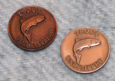 Trout Unlimited Lapel Pins