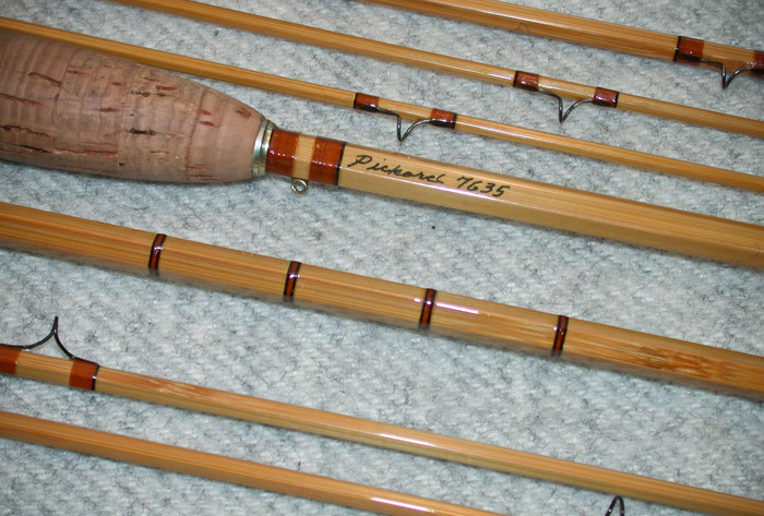 pickard rod company bamboo fly rods